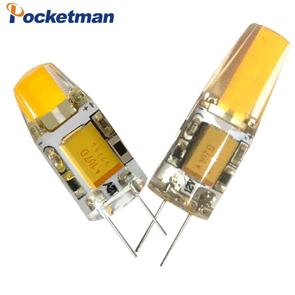 6W 3W LED G4 led lamp COB 12V LED Bulbs AC12V Replace Crystal LED Light Bulb Spotlight Warm Cold Drop shipping