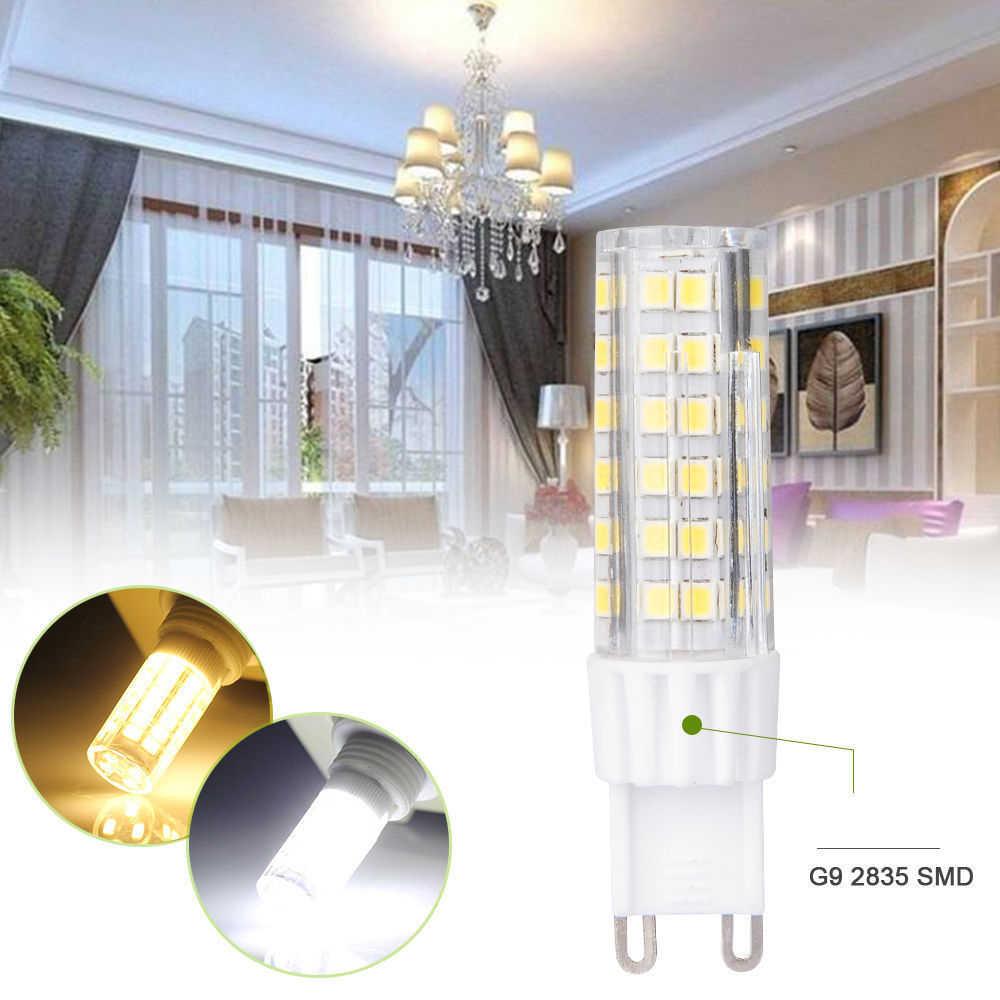 G9 LED מנורת AC220V 2835SMD 5 W 7 W 9 W 12 W 15 W LED אור הנורה סופר מואר נברשת LED אור להחליף 30 40 50 70 W מנורת הלוגן