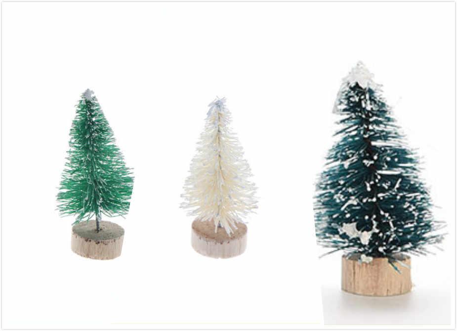 DIY Árvore de Natal Pequeno Pinheiro Árvores Mini Colocado Na Área de Trabalho Para Casa Natal Navidad Decoração de Natal Presentes 3 Cores 1 pcs
