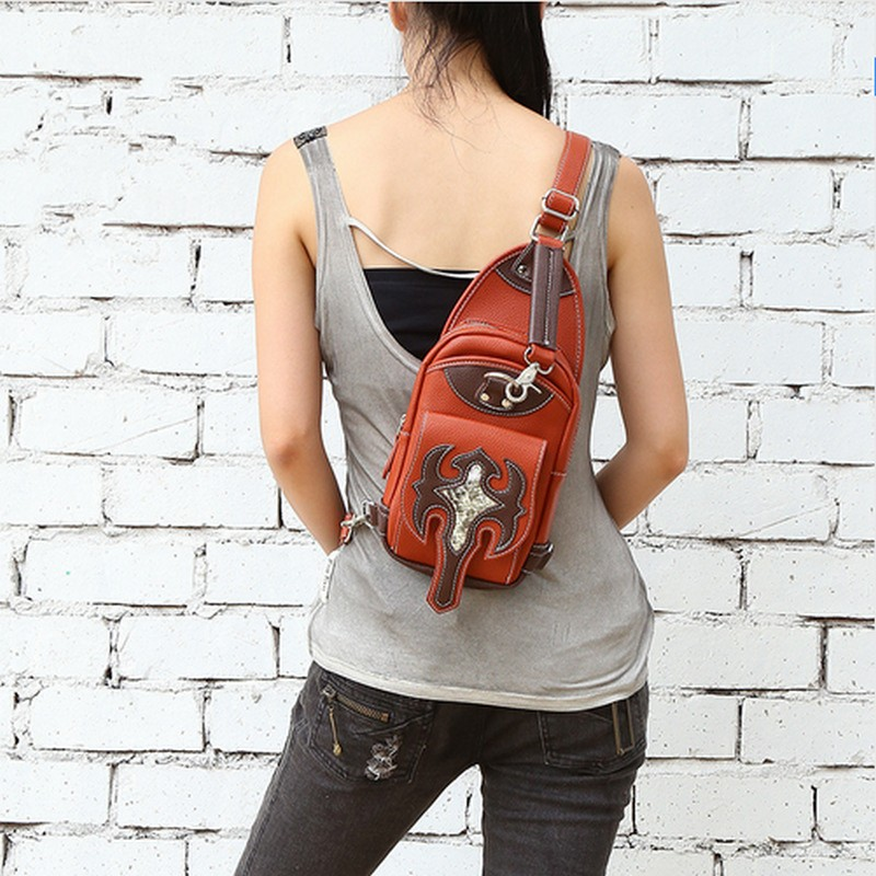Steampunk bag Holster Shoulder Back pack Purse Men's bag carteras mujer Motor Outlaw Pack Shoulder bag bolsa clutch art holster w15090953672