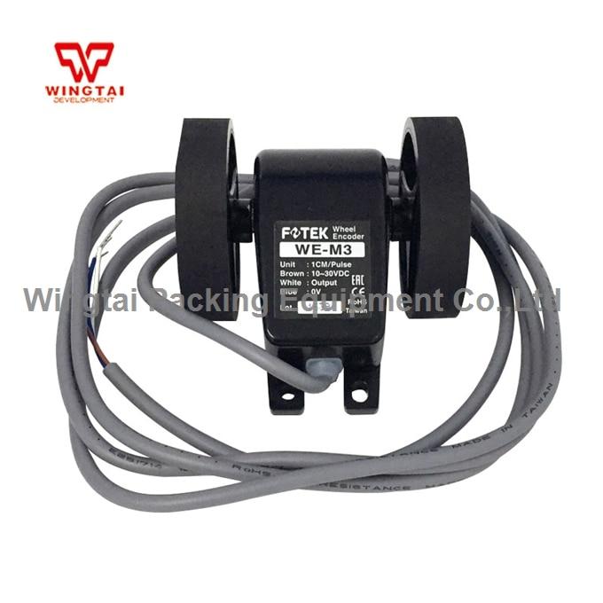 Taiwan Fotek Counter WE-M3 WE Series Length Encoder With Wheel 10~30 VDC Fotek Encoder taiwan original fotek  h5c 4d counter meter