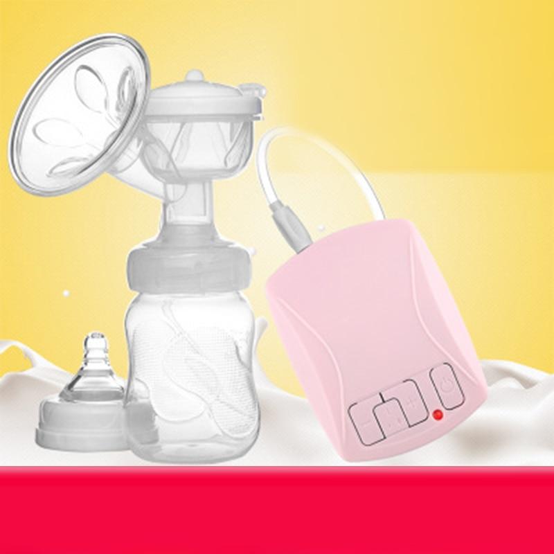 Newborn Electronic Breast Pump Automatic Milk Pump Baby Bottle USB PP Massage Cushion Infant Breast Feeding Milk Collector