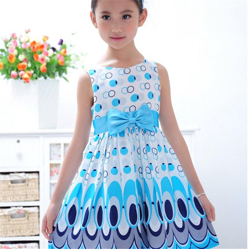 Blend + Polyester Dívky Dívčí šaty Princezna Bow Tutu Šaty - Dětské oblečení