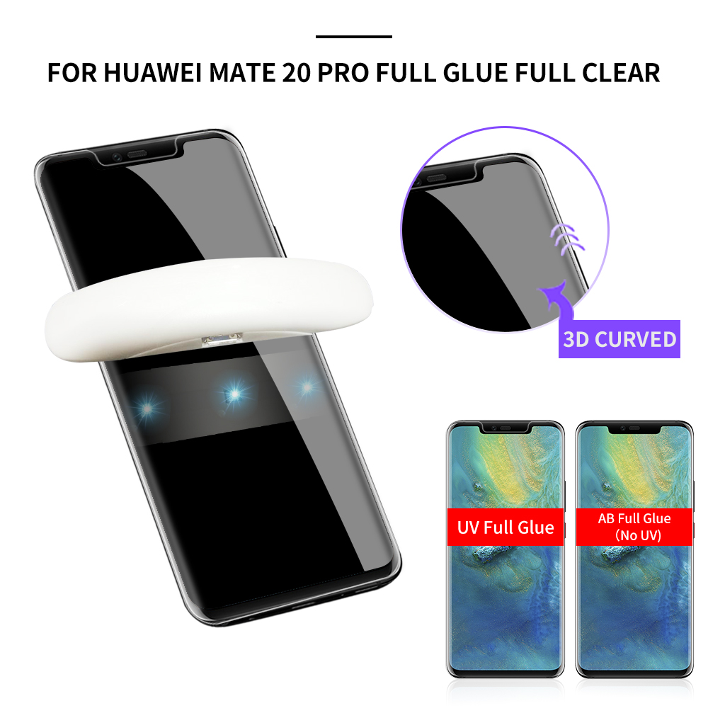 9H Tempered Glass For Huawei Mate 20 Lite Mate 20x Mate 20 Pro Glass Screen Protector 5d 3d On Mate20 Pro Uv Protector Film
