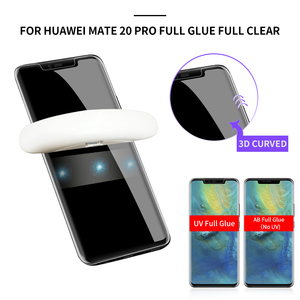 9H Tempered Glass For Huawei mate 20 lite mate 20x mate 20 pro glass screen protector 5d 3d on mate20 pro uv Protector Film(China)