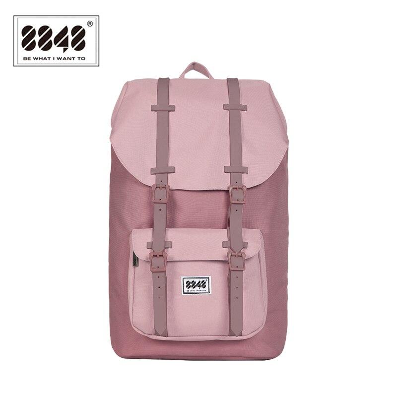 8848 marque femmes sac à dos femme voyage sac à dos imperméable matériel grande capacité 20.6 L sac à bandoulière populaire Style111-006-003