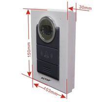 316+210 Direct Factory  Wired Video Door Phone 7 Inch TFT Large HD Screen Doorbell Intercom Home Security System for Villa