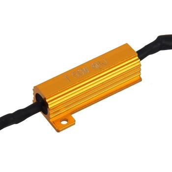 50W H1 H3 H7 H11 9006 hb3 hb4 h9 h8 h10 Car Load Resistor Error Canceller LED Decoder Canbus Free Wiring Canceller Decoder Light