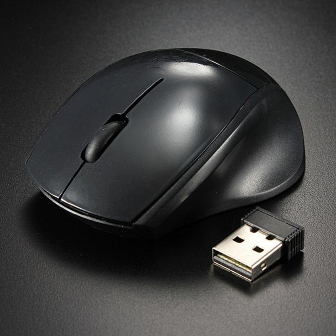 2.4ghz Mice Optical Mouse Cordless USB Receiver PC Wireless For Laptop