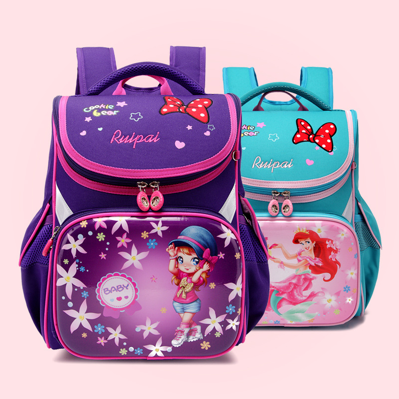 Ruipai new Cartoon Pattern Students Bags school backpack for girls Cute printing school bags Waterproof Backpack Schoolbag 2018 girls last tour backpack shoujo shuumatsu ryokou schoolbag for middle school students