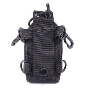 Image 5 - 2 pçs abbree MSC 20E portátil walkie talkie náilon caso capa handsfree titular para baofeng UV XR UV 9R tyt woxun motorola rádio