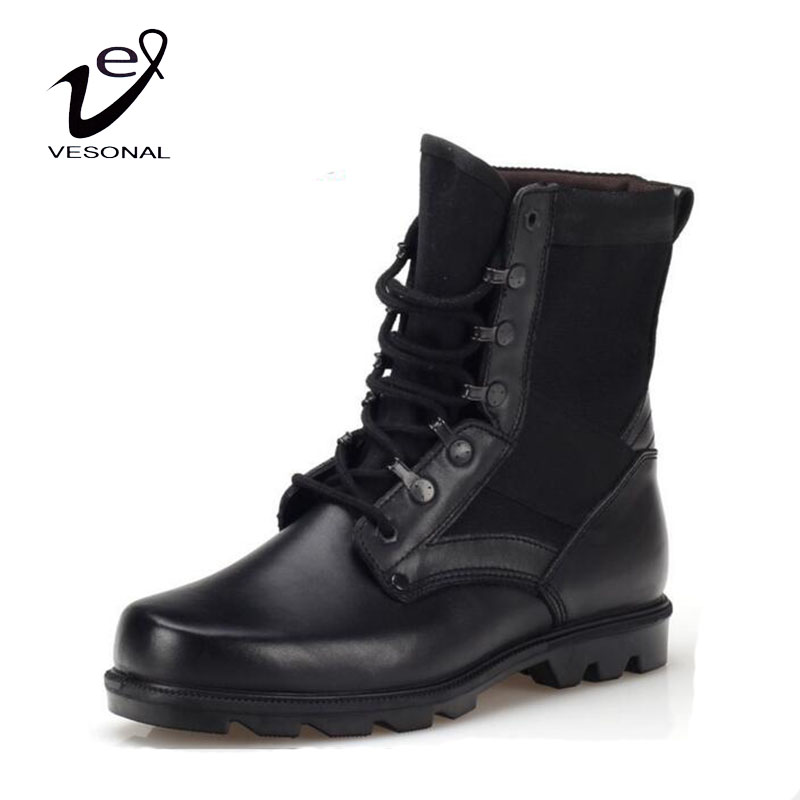 Popular Leather Combat Boot-Buy Cheap Leather Combat Boot lots ...