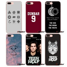 Popular série de TV Teen Wolf Para Samsung Galaxy S2 S3 S4 S5 MINI S6 S7 borda S8 S9 Plus Nota 2 3 4 5 8 Fundas Coque Caso Pele Macia(China)