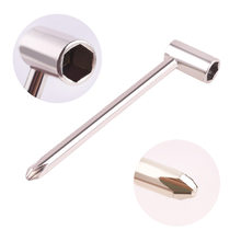 7mm Truss Rod Wrench Silver Metal Tool Adjustable For Jackson/ Ibanez PRS Electric Guitar New(China)