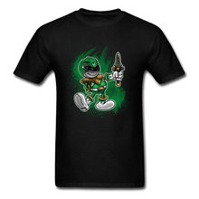 Star Wars T Shirt For Student Vintage Green Ranger Printed On Sword T Shirt 2018 Design Offensive Tee Shirts Boys Cotton(China)