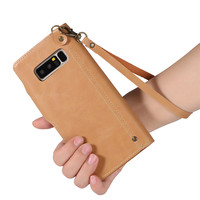COQUEN For Samsung Galaxy Note 8 Case Luxury PU Leather Wallet Bag Credit Card Holder Flip Cover Cases For Samsung Galaxy Note 8