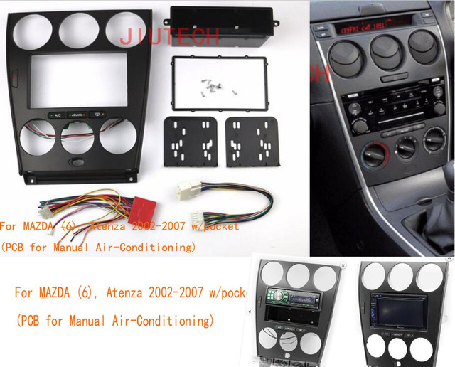 double din car radio fascia frame panel for mazda 6 atenza 2002 2007 rh aliexpress com 2006 mazda 6 radio manual