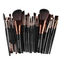 MAANGE 22Pcs Cosmetic Makeup Brushes Set Blush Powder Foundation Eyeshadow Eyeliner Lip Make Up Brush Beauty