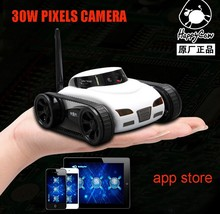 Spy WIFI Tank Car Video 0.3MP Camera 777-270 WiFi Remote Control By Iphone Android Robot with Camera 4CH APP