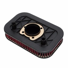 Motorcycle Air Cleaner Filter Element For Harley Sportster XL883 XL1200 2004-2013 2011 2012