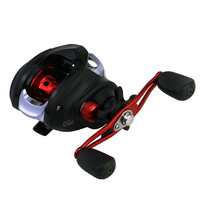 New 17+1BB Metal Baitcasting Fishing Reel 6.3:1 ratio High Speed Left / Right Hand Water Drop Reel Fishing Wheel Fresh Saltwater