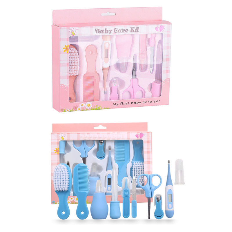 Devoted 13pcs Baby Care Gift Set Neonatal Thermometer Nail Clippers Trimmer Tweezers Scissors Nail Care Grooming Healthcare Kit Moderate Price Baby Care Back To Search Resultsmother & Kids