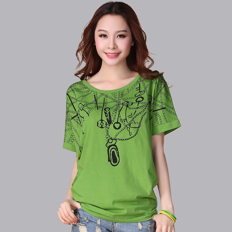Summer Women's Plus Size Clothing Top Batwing Loose Short-sleeve T-Shirt 100% Cotton Female T-shirt maternity clothing summer one piece dress cotton medium long 100% plus size maternity top t shirt summer short sleeve loose long