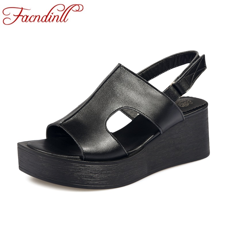 FACNDINLL summer shoes fashion gladiator sandals women shoes wedges high heels open toe platform black white women casual shoes 2017 summer women shoes platform wedges sandals high heels woman casual shoes fashion hemp rope rivet punk roman gladiator shoes