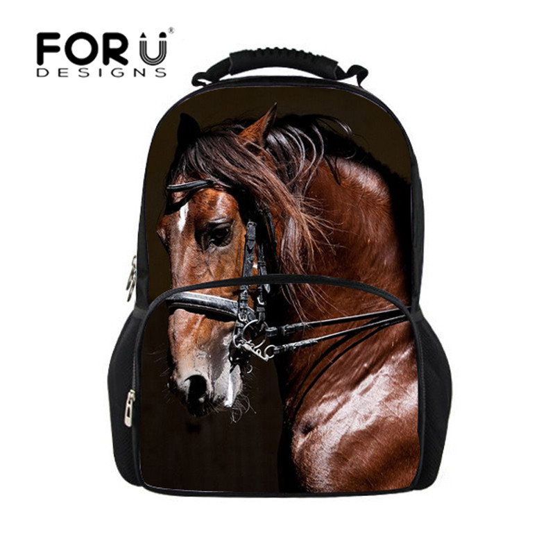 Backpacking Backpack Hot Printing Women Backpacks Campus Students School Bags Crazy Horse Shoulder Bags For Teen Boys&girls Fast