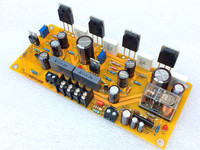 1PCS 25W 1969 Amplifier Board TIP41C Audio Tube + ON NJW0281 Output Tube Pure Class A High Power Amplifier Board