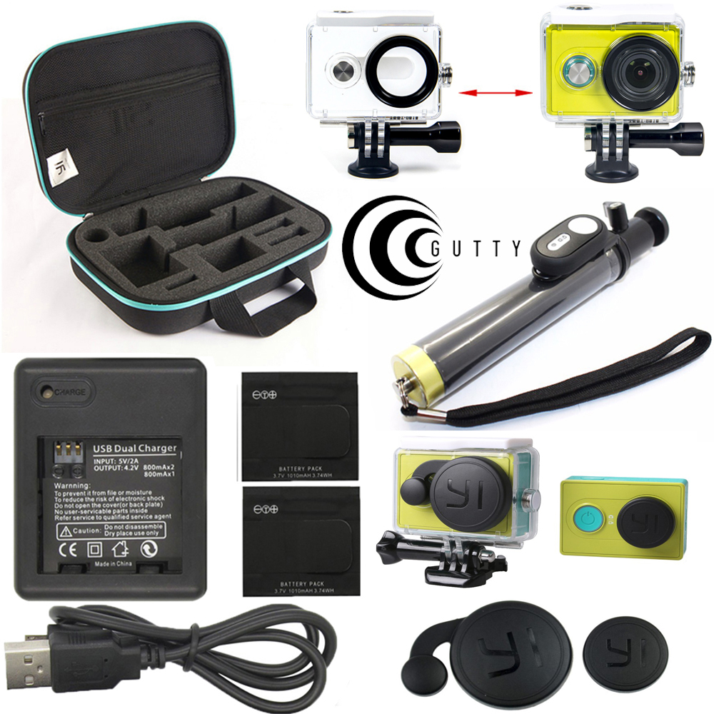 Original XiaoMi Yi Action Camera Accessories Waterproof Housing Case 60M Diving Waterproof Box For Xiaoyi 2K