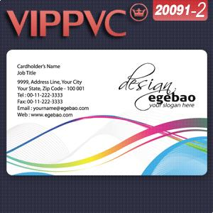 a20091-2 Fine Frosted Plastic cards PVC Card