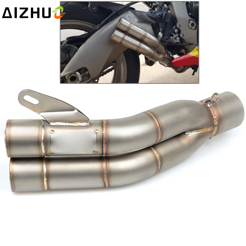 цена на 36mm-51mm Motorcycle Accessories Exhaust Muffler Pipe For Honda CB600F CB 600 F cb600f Hornet CBR600F CBF600SA CB300F