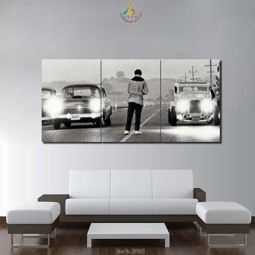 3-4-5 Pieces Modern HD Printed Painting Canvas Home Decor Movie Once Upon a Time in America Poster Frame Car Modular Pictures