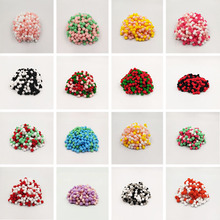 Mulit Colors Pompom 8mm 10mm 15mm 20mm 25mm 30mm Fur Craft DIY Soft Pom Poms Wedding Decoration Sewing On Cloth Accessories 20g