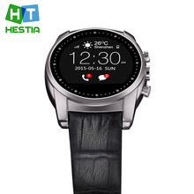 Hestia a8 bluetooth smart watch runde redondo ronde smartwatch 3g sim für android ios pulsmesser wasserdicht