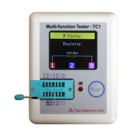 Pocketable Transistor Tester Is The LCR TC1 Full Color Graphics Display
