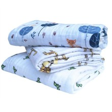 ФОТО   Aden anais Autumn born supplies baby gauze holds blankets thickening 100Muslin cotton 2 layers with label 380g