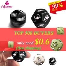 Dice  Sex 12 Sides Love Dices Sexy Erotic Craps Toys For Adult Games Sex Toys Noctilucent Couples Dice Glow Dice Cube black wolf set funny sex dice 6 12 positions sexy romantic love gambling adult games erotic craps tube sex toys for couples