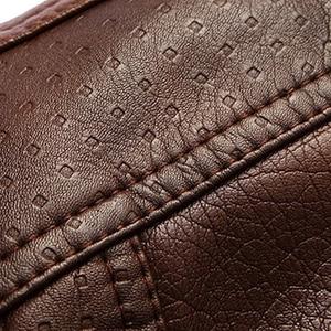 Image 5 - Mountainskin سترة جلدية الرجال المعاطف 5XL العلامة التجارية عالية الجودة بولي Outerwear ملابس خارجية الرجال الأعمال الشتاء فو الفراء سترة الذكور الصوف EDA113