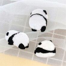 AHYONNIEX бренд панды нашивки для платья вышивка значок милый мультфильм нашивки в виде животных ручная учетная запись книги DIY аксессуары