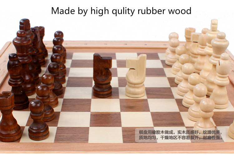High quality classic wooden chess set international chess sets