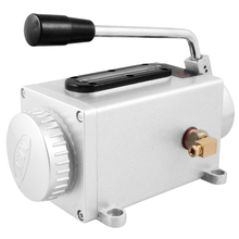 Mannal MYLB-Y-8 4mm Diámetro Outlet Negro Manejar Sistemas de Lubricación de Aceite de La Bomba