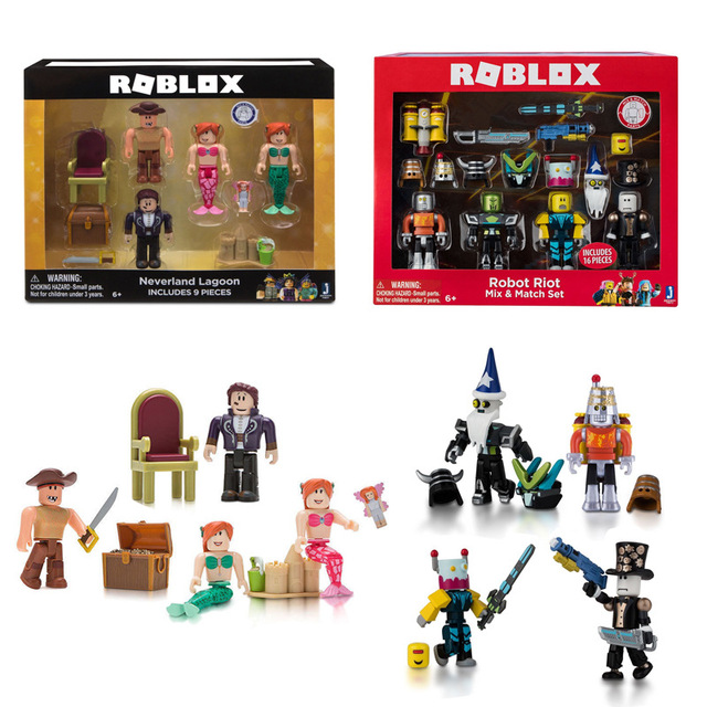 Roblox Game Figure Set Chraracters Toys Mystery Box Prison Life