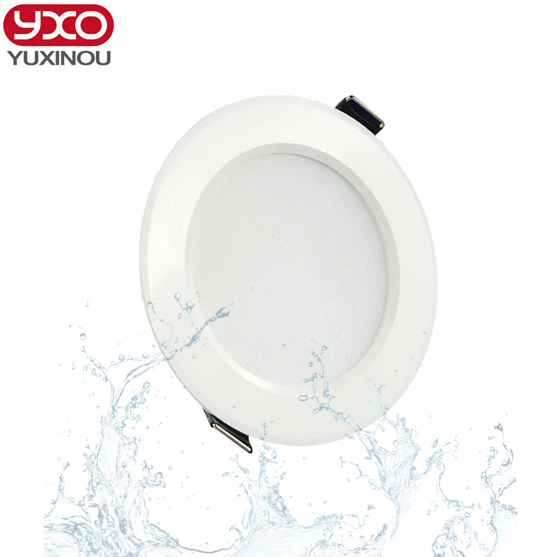 5pcs/lot 7W/9W/12W/15W/18W/24W dimmable waterproof recessed led panel light AC 85-265V LED Ceiling down light Cold/Warm white 1w 90 lumen 3500k warm white led ceiling lamp down light with led driver ac 85 265v