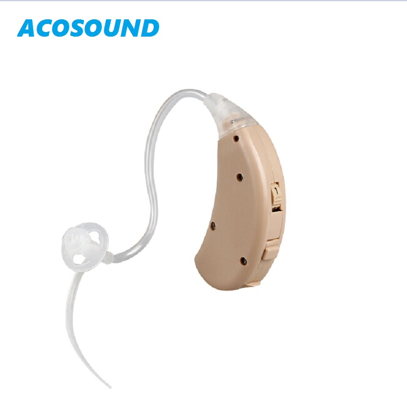 Acosound 220OF Hearing Aids 2Channels Sound Amplifier Open Fit Earplugs Digital Hearing Aid Ear Aid Ear Care Tools 2018 hearing aid mini sound amplifier volume controled ear care earphone hearing aids tinny deafness machine s 9a