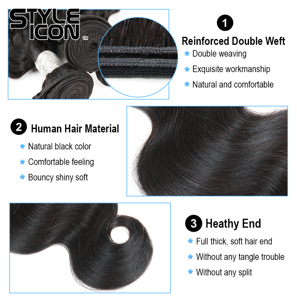 Body Wave Human Hair Bundles 4