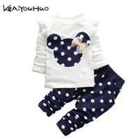 KEAIYOUHUO New Cute Lovely Baby Multicolor Dot In The Spring And Autumn Winter Leisure Two Times