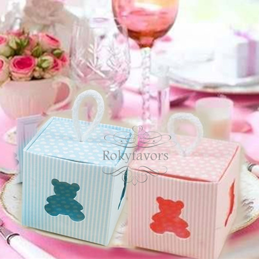 Free Shipping 100pcs Tin Pails Favors Boxes White Mini Bucket Candy ...