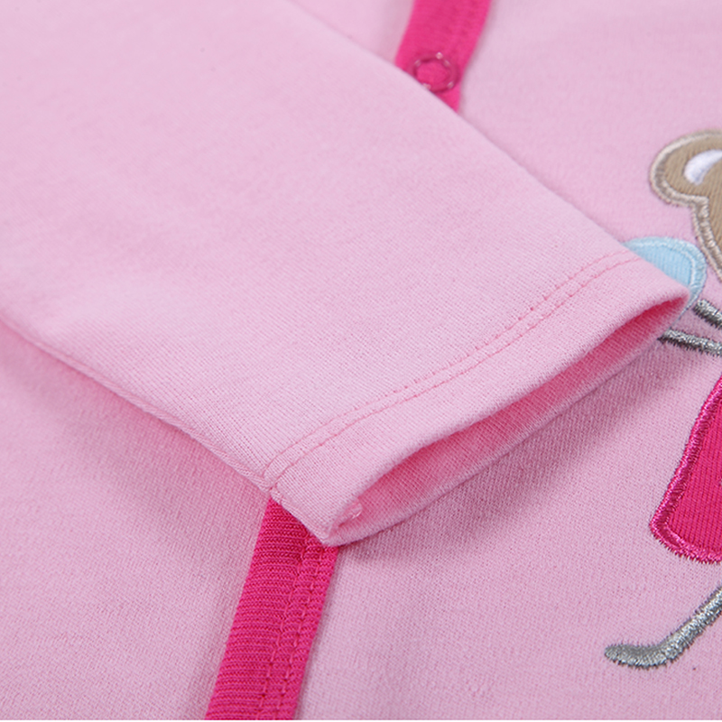 100% pamut bébi test 3db / lot őszi újszülött pamut test baba - Bébi ruházat - Fénykép 6